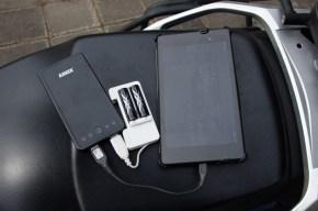 Anker Astro3E, Google Nexus 7, Sanyo USB Ladegerät, Sanyo Eneloop XX