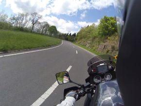 Kurvenspass in Luxemburg
