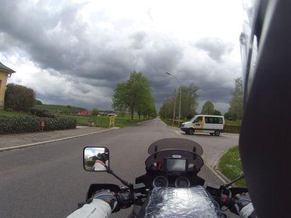 Drohende Unwetterfront in Luxemburg