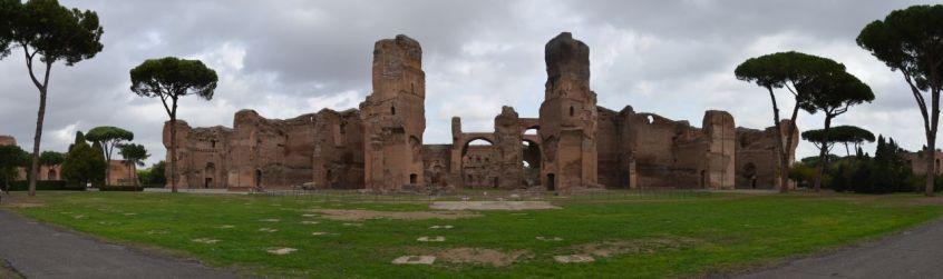 Roma (52) Caracalla Pano