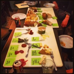 amazing cheese and charcuterie tasting gathering