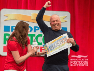 Nigel_Howard_Scoops_Peoples_Postcode_Lottery_Prize