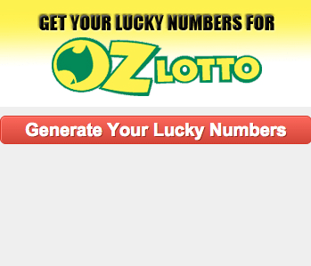 lucky numbers for oz lotto