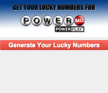 Lucky Numbers for US Powerball