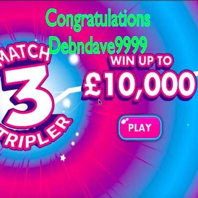 Daily Prize Draw Winner 28-08-2020