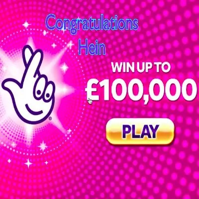 Daily Prize Draw Winner 04-11-2020