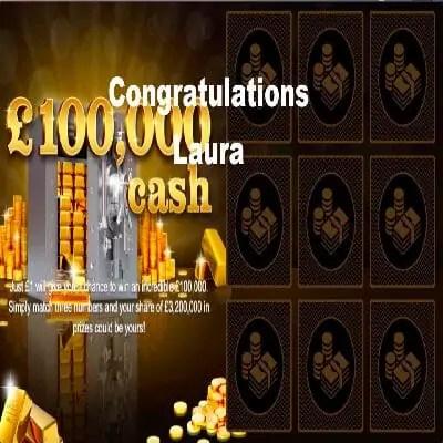 Daily Prize Draw Winner 20-12-2020
