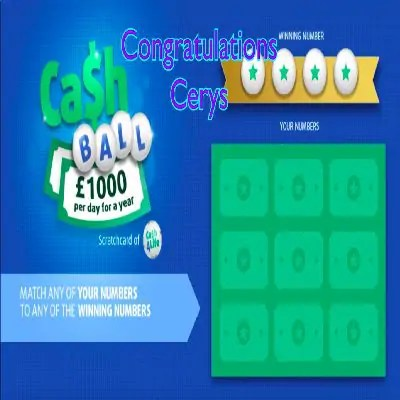 Daily Prize Draw Winner 29-12-2020