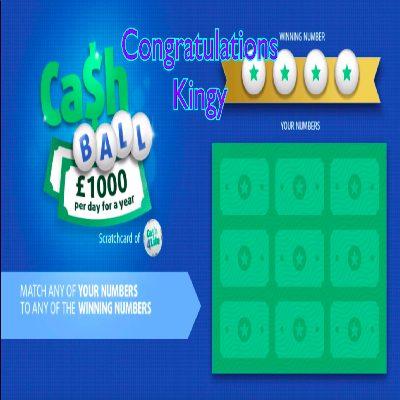 Daily Prize Draw Winner 04-02-2021