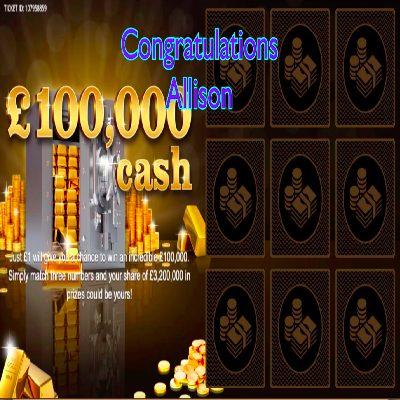 Daily Prize Draw Winner 23-02-2021