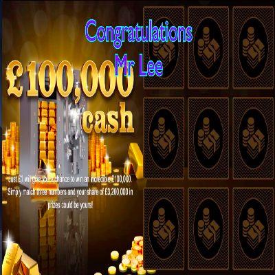 Daily Prize Draw Winner 26-02-2021