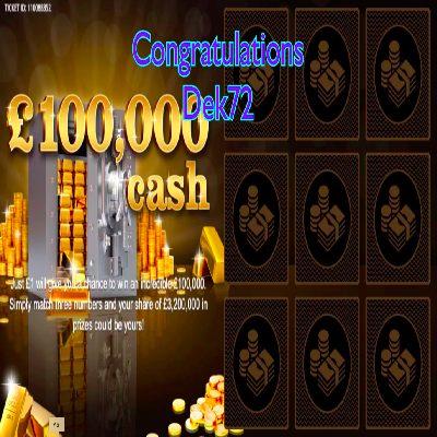 Daily Prize Draw Winner 11-03-2021
