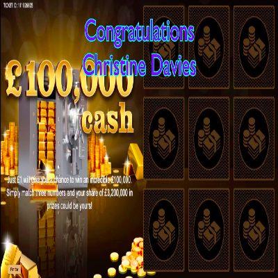 Daily Prize Draw Winner 14-03-2021