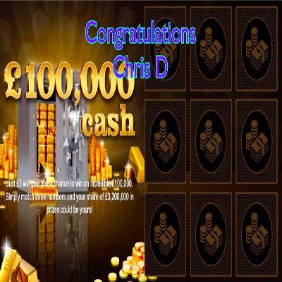 Daily Prize Draw Winner 16-03-2021