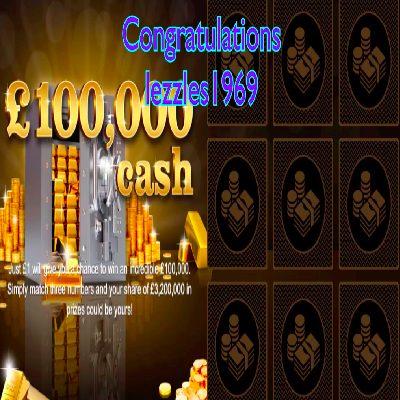 Daily Prize Draw Winner 06-04-2021