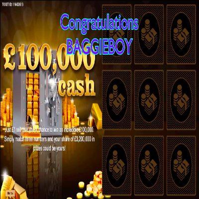 Daily Prize Draw Winner 28-04-2021