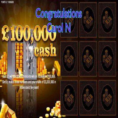 Daily Prize Draw Winner 01-05-2021