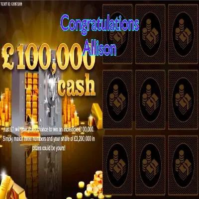 Daily Prize Draw Winner 18-06-2021