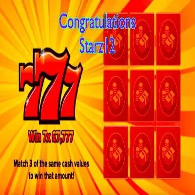Daily Prize Draw Winner 10-08-2021