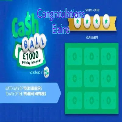 Daily Prize Draw Winner 14-09-2021