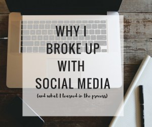 why i broke up with social media detox and what i learned