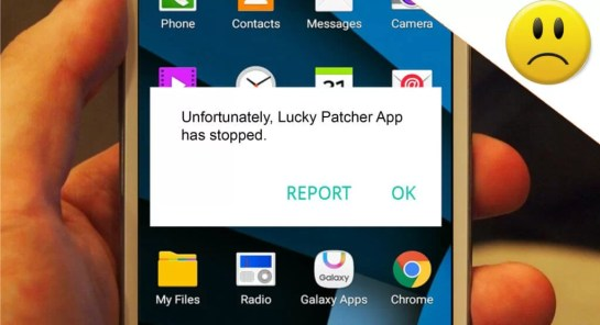 Unfortunately Lucky Patcher has Stopped