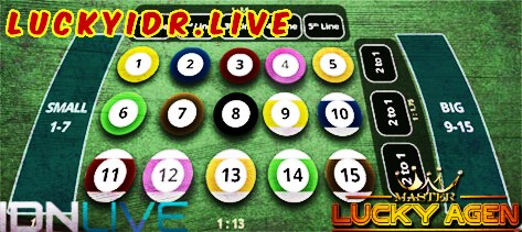 Pemainan Judy Billiard Online IDNLive | LuckyIDR