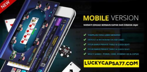 Situs Aplikasi Poker Online Indonesia Android dan Iphone