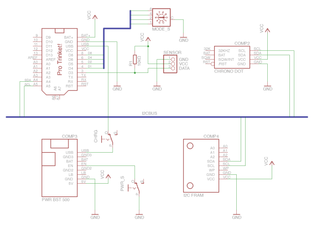 Data Logger Circuit Diagram Simple
