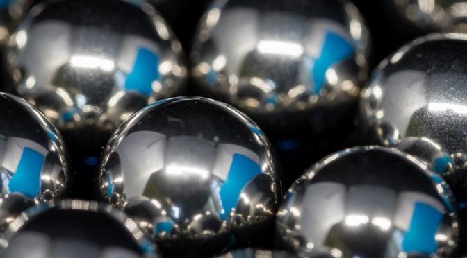 Steel Balls Arrived