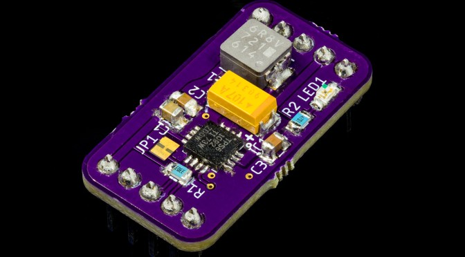 Testing the TPS61092 Boost Converter