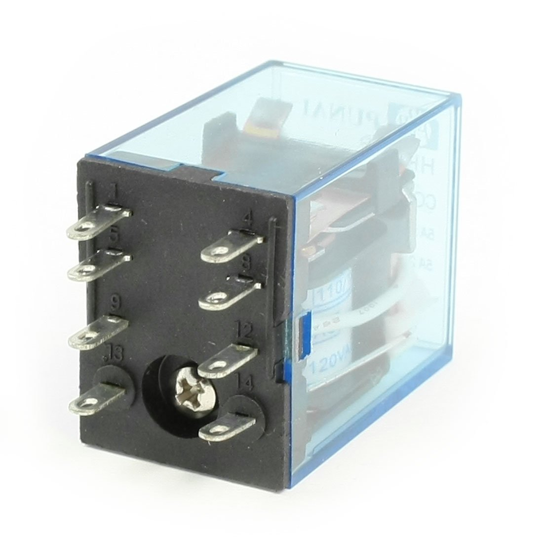 Hh52p Ac 110 120v Coil Dpdt Electromagnetic Power Relay Lw