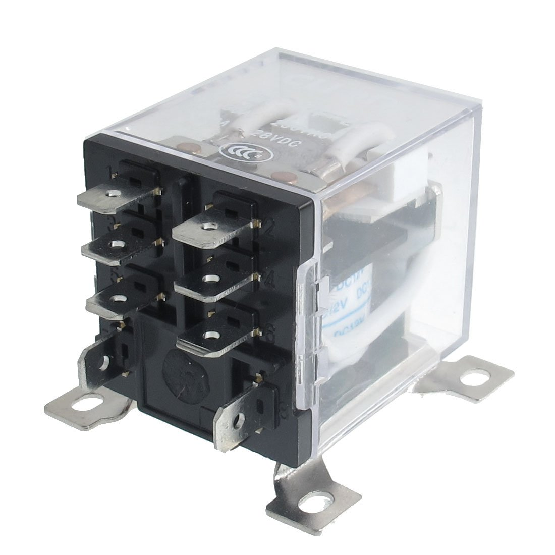 Jqx 12f 2z Dc 12v 30a Dpdt General Purpose Power Relay 8