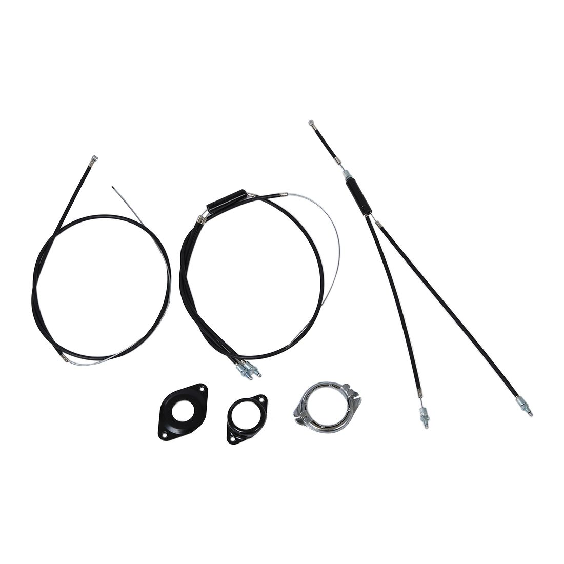 Bmx Brake Cable Front Rear Extra Long Gyro Rotor Spinner A8a8