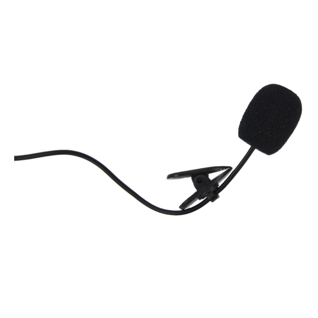 Hands Clip On Lapel Mic Microphone Head Mounted Microphone