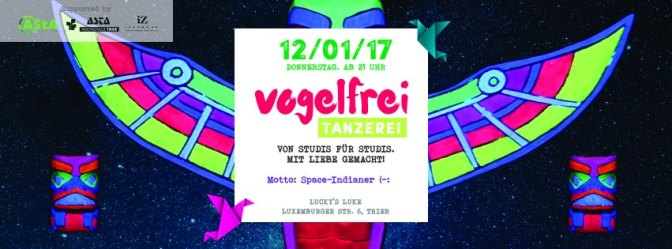 Vogelfrei Space-Indianer