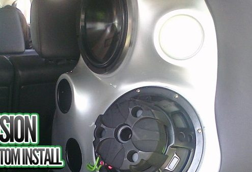 Fusion Custom Fiberglass Install Lucky's Autosports