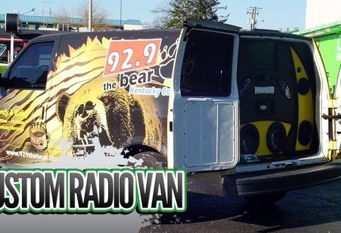 Commercial Radio Van Installs