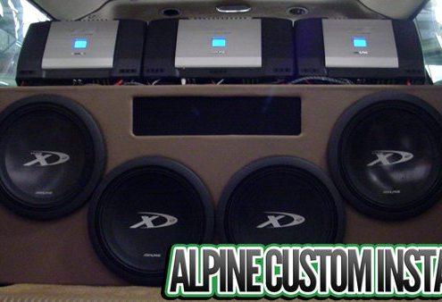 Alpine Subs Custom Install Lucky's Autosports