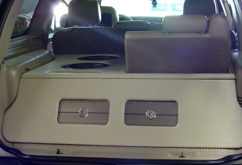 SUV Custom Stereo Install Lucky's Autosports