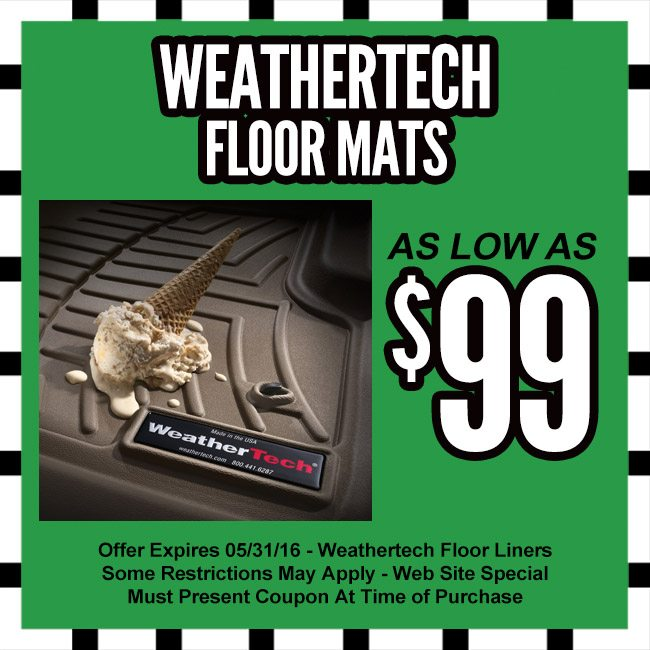 WEATHERTECH MATS COUPON