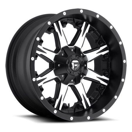 Fuel Nutz 20x10MB D541 Wheels