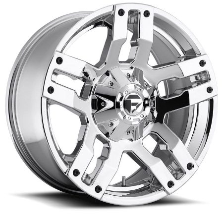 Fuel Pump Chrome D514 Wheels
