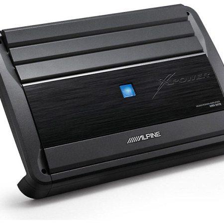 Alpine MRX M110 Amplifier Front