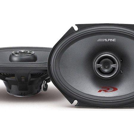 Alpine SPR 68 Speakers Front