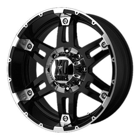 XD Series XD797 Spy Black Wheels