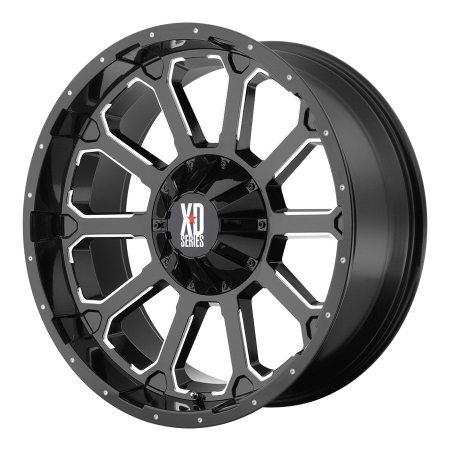 XD Series XD806 Bomb Black Wheels