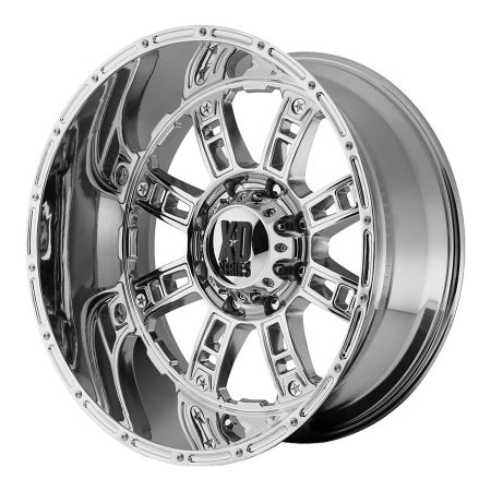 XD Series XD809 Riot Chrome Wheels