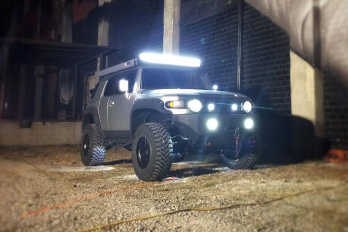 FJ Cruiser Lifetime LED Headlights