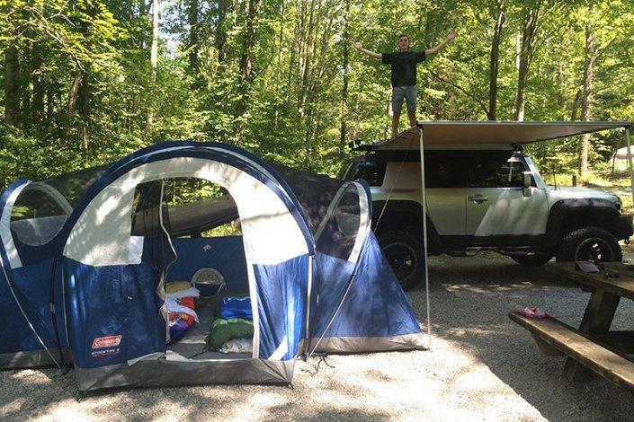 FJ Cruiser Camping Awning